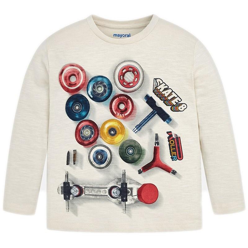 b6890badee4 KaterinasKids   Χειμερινά   Mayoral παιδική μπλούζα για αγόρι μπέζ